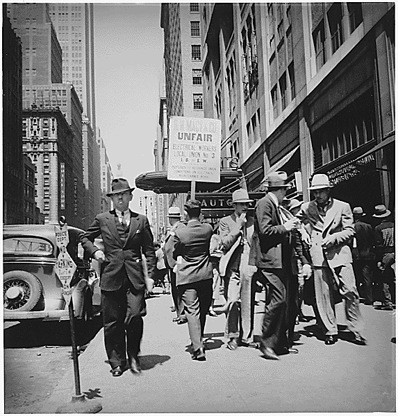 Streik NYC